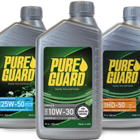 Products Logo Oil Lubricants Pure Guard